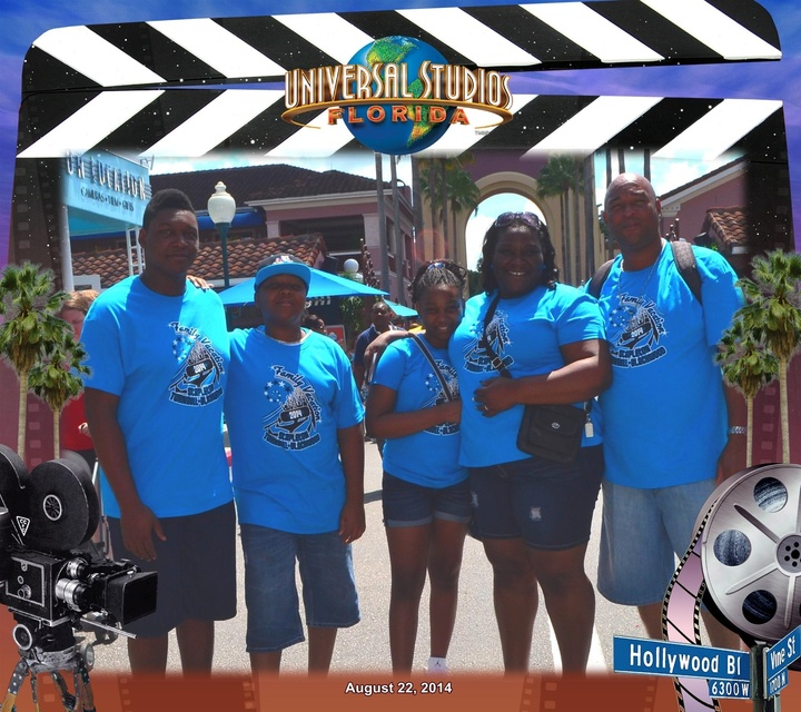 Universal Vacation With Custom Ink! T-Shirt Photo