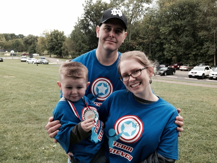 Higgins Family At The Walk For Apraxia T-Shirt Photo