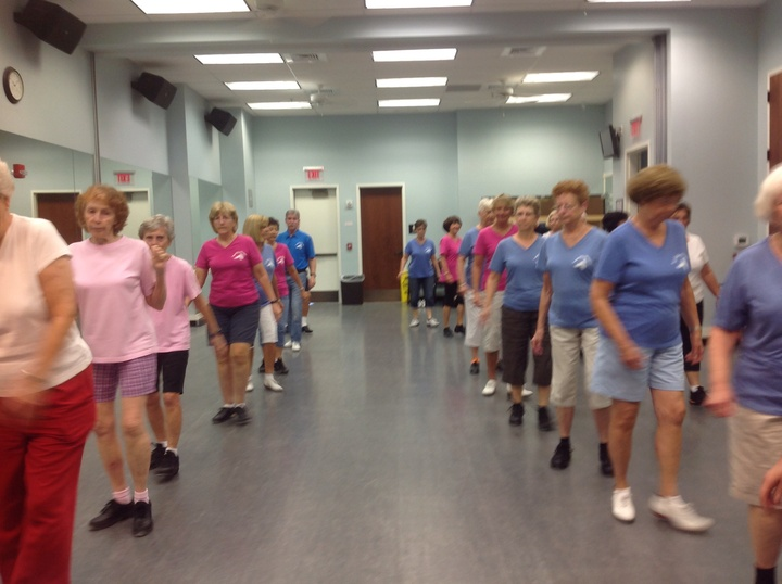 Sun City Cloggers Class Time T-Shirt Photo