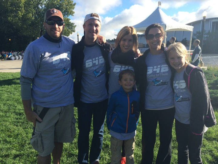 Battling For Brooke! Jdrf Walk For A Cure T-Shirt Photo