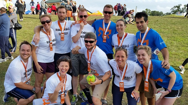 Team Runewable Energy Finishes The Ragnar Relay T-Shirt Photo
