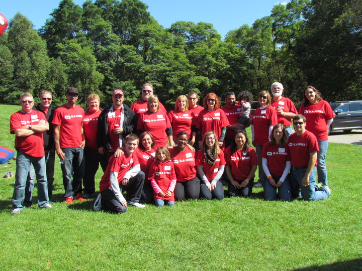 Volunteers At Picnic T-Shirt Photo