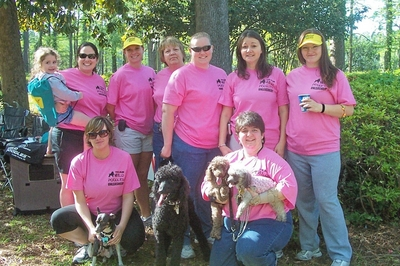 Ms Walk    Team Wild Poodles    Wilmington, Nc T-Shirt Photo