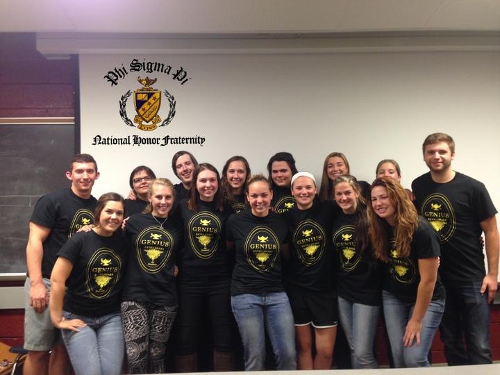 Phi Sigma Pi Omicron T-Shirt Photo
