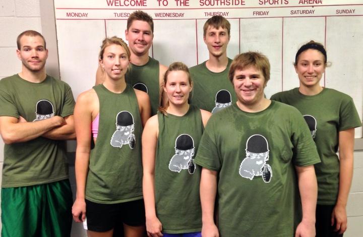 War Kittens T-Shirt Photo