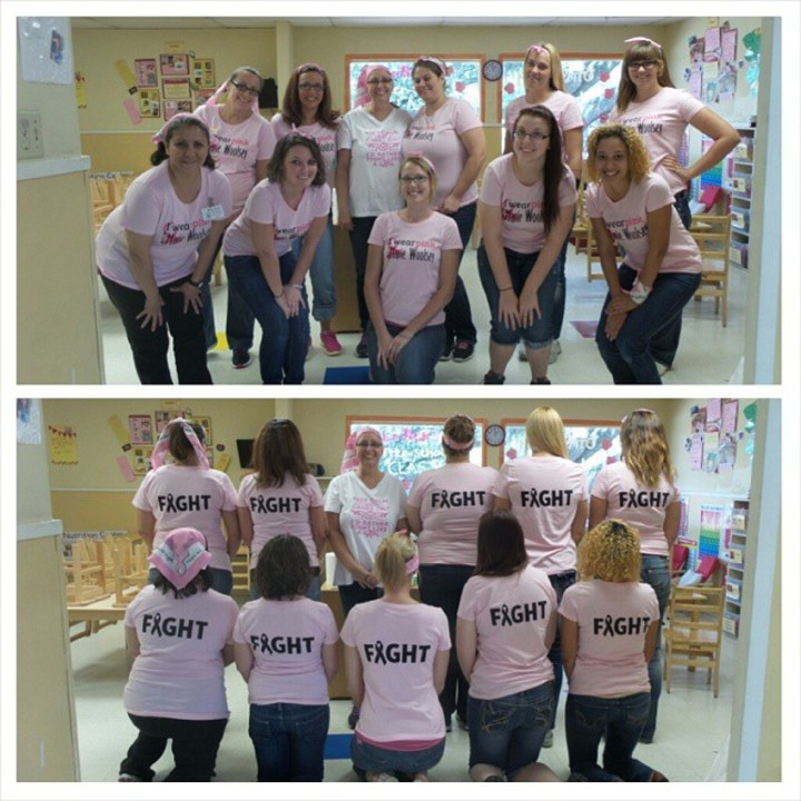 Friends Don't Let Friends Fight Cancer Alone T-Shirt Photo