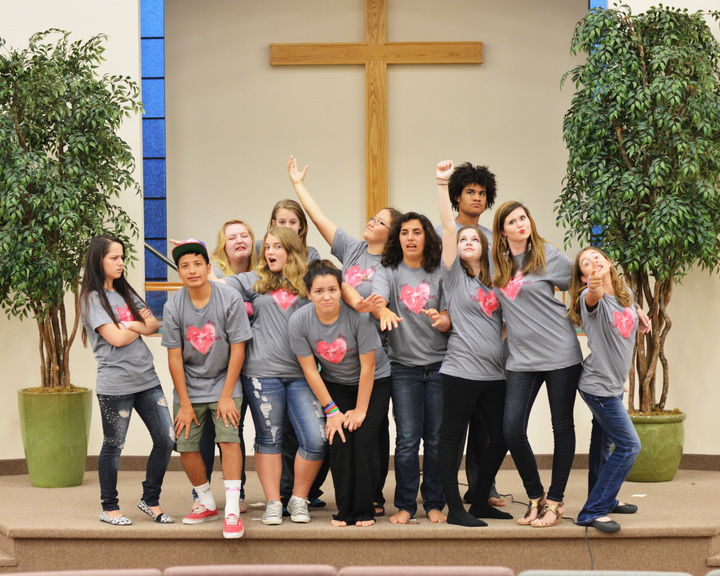 The Four Loves Youth Rally Drama Team T-Shirt Photo