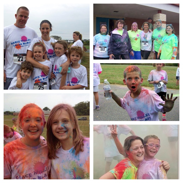 Grace Miller Color Blast T-Shirt Photo