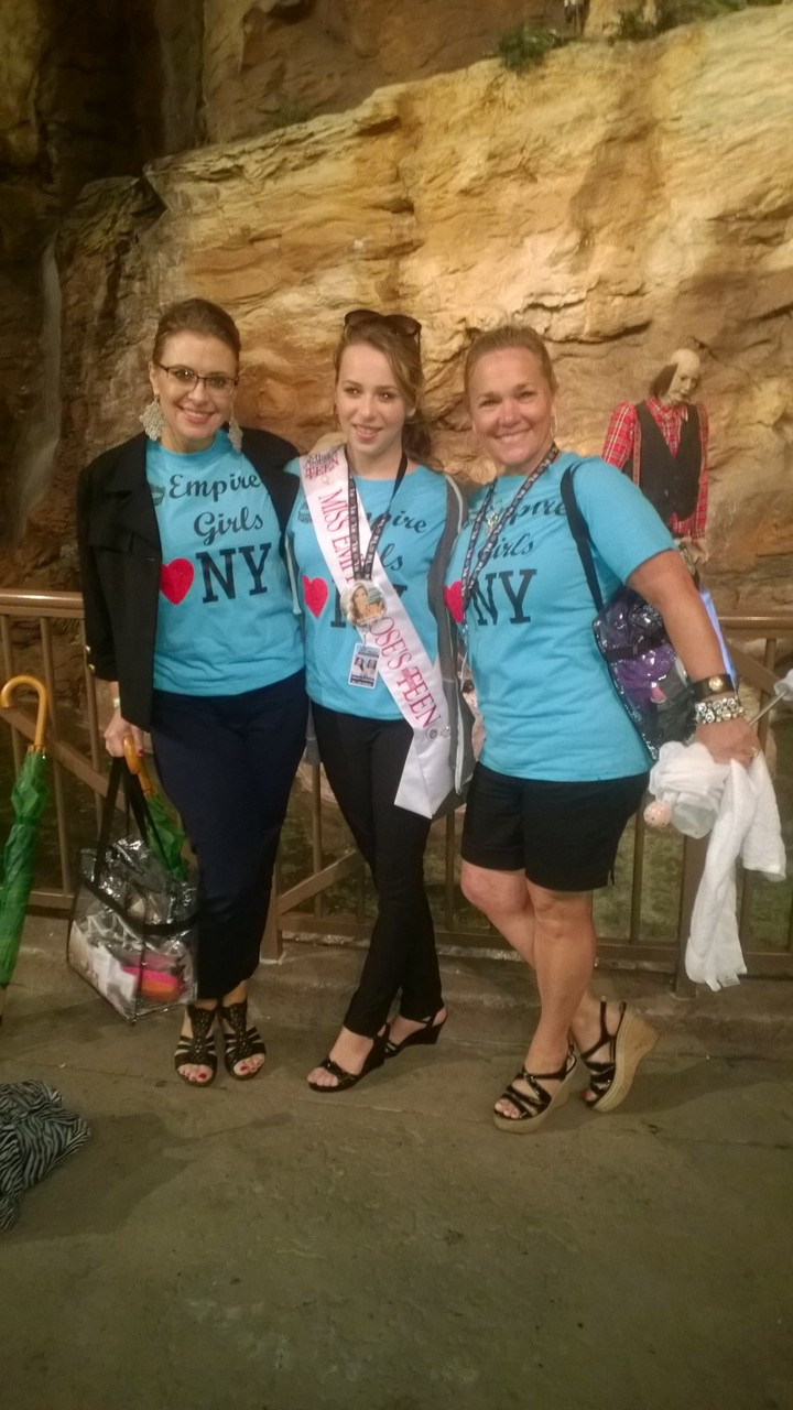 On Our Way To The Miss America Parade T-Shirt Photo