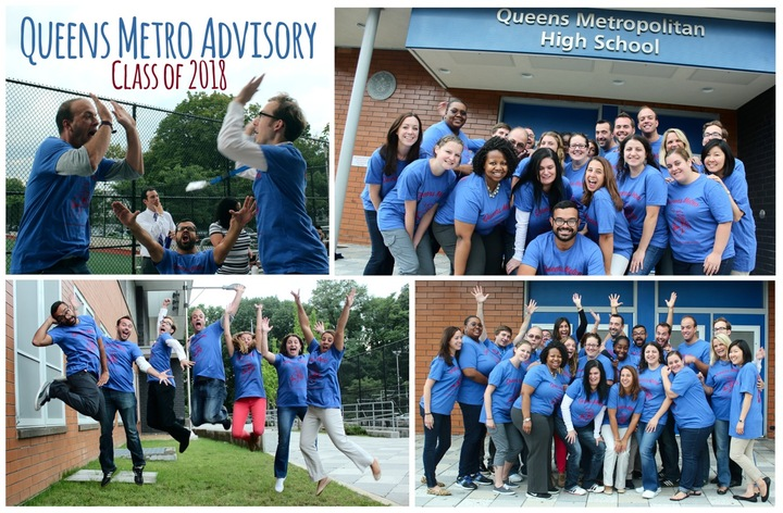 Queens Metro Hs Advisory T-Shirt Photo