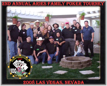 2nd Annual Aries Poker Tourney T-Shirt Photo