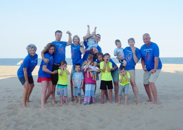 Neff Family Beach Party 5 K Run T-Shirt Photo