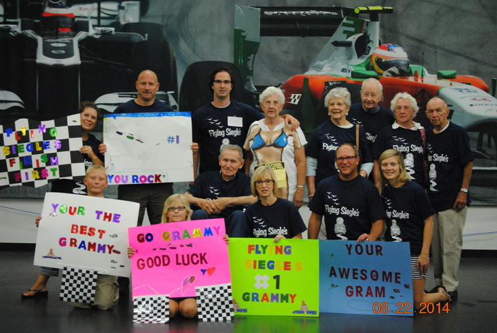 Grammy Grampy Grand Prix T-Shirt Photo