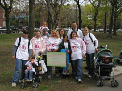 2008 March For Babies T-Shirt Photo