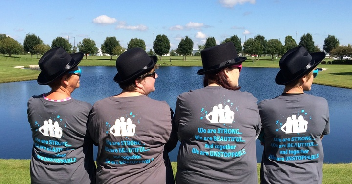 Sole Sisters Walk To Stop Diabetes T-Shirt Photo