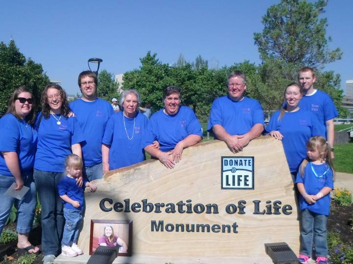 Organ Donor Monument Ceremony T-Shirt Photo