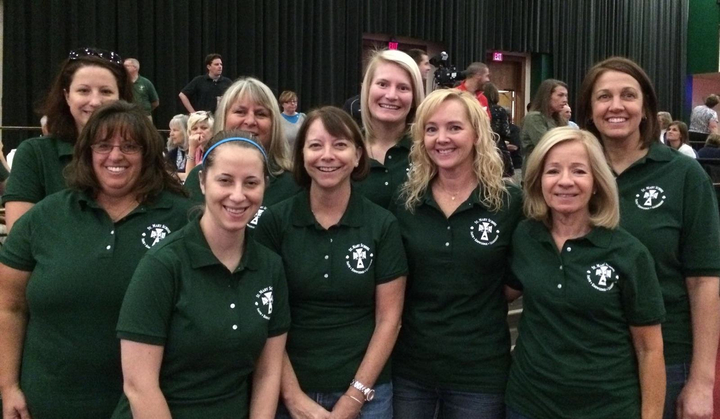 St. Mary Teachers Love Custom Ink T-Shirt Photo