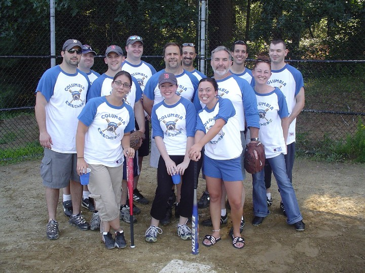 Columbia Crushers Softball Team T-Shirt Photo