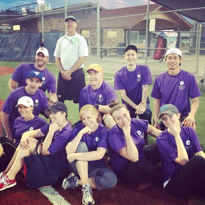 Hyatt Softball Winning T-Shirt Photo