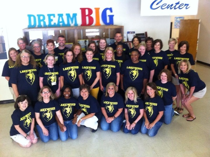 Lakewood Elementary Teachers 2014 15 T-Shirt Photo