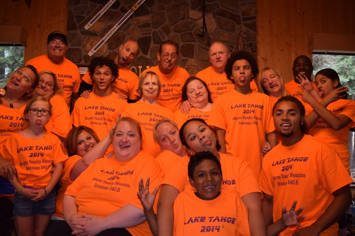 Lake Tahoe Mayer Family Ironman T-Shirt Photo