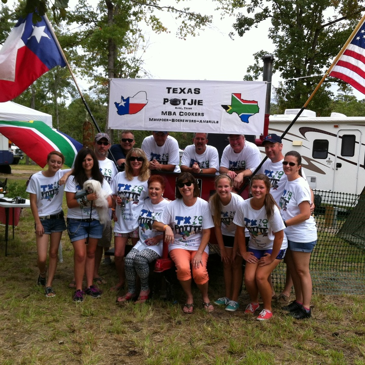 2014 Texas Potjie Mba Cookers T-Shirt Photo