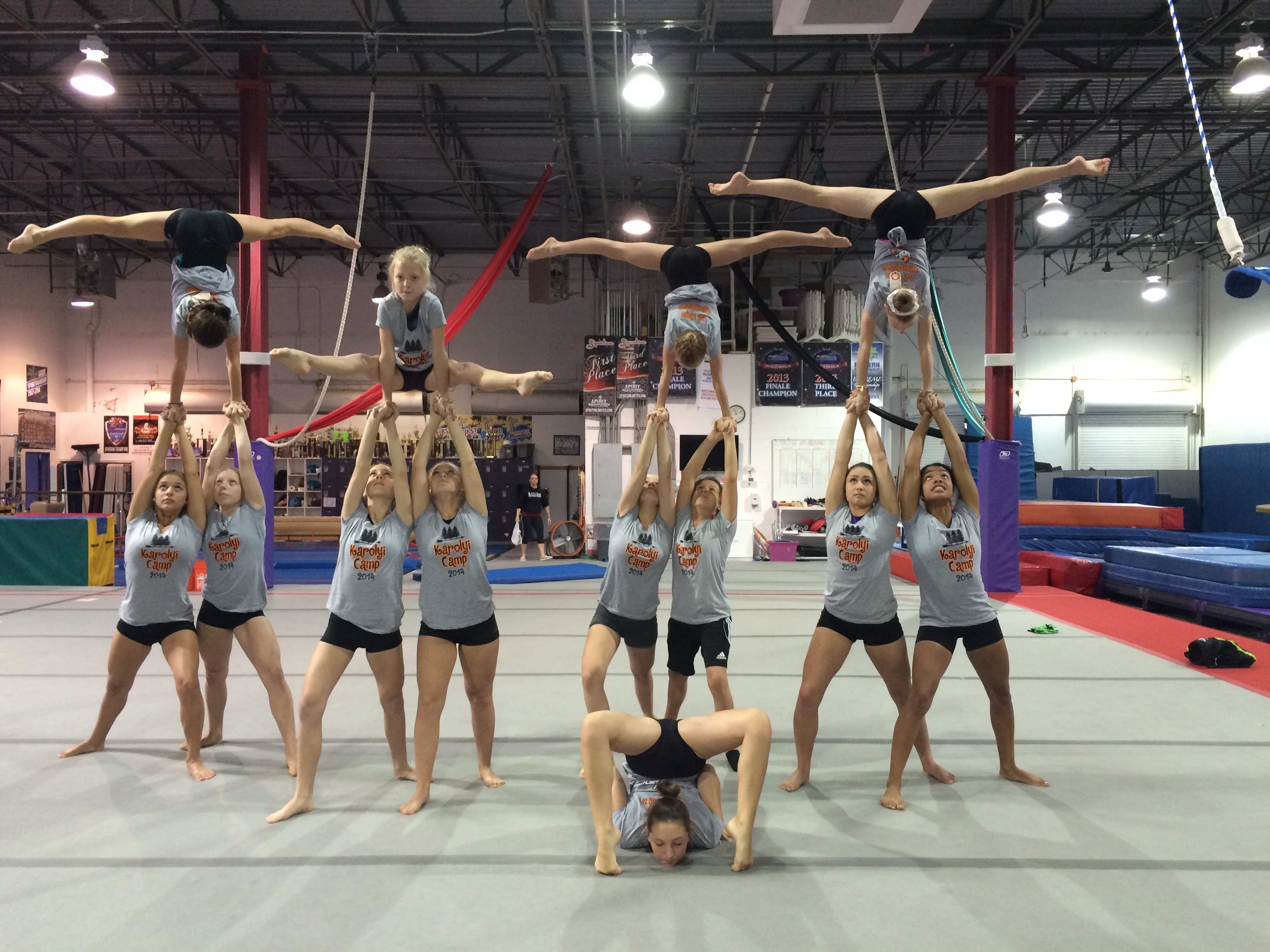Custom T-Shirts for 1st Class Acro Team! - Shirt Design Ideas