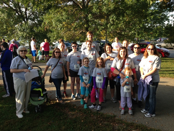 Getting Our Rears In Gear  Colon Cancer 5k In Remembrance Of Tony T-Shirt Photo