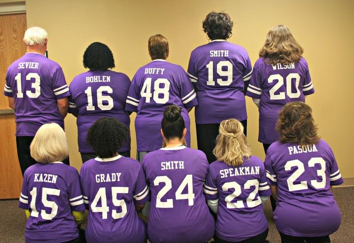 """The Winning Custom Ink Team"" T-Shirt Photo"