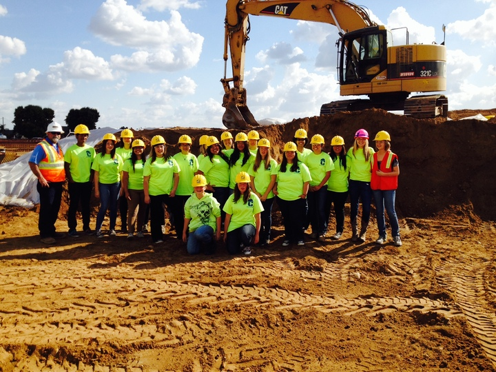 Clovis High Women In Construction T-Shirt Photo