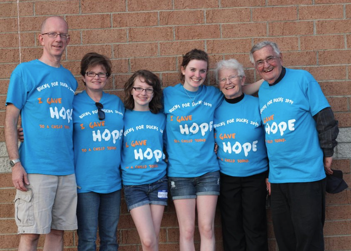 Give A Quack And Give Hope T-Shirt Photo