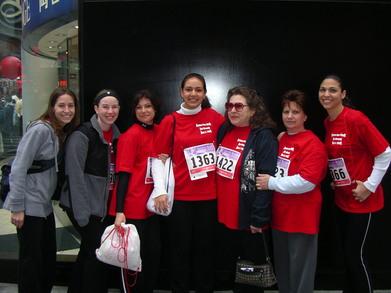 Revlon Walk...Team Caring Hearts For Gina T-Shirt Photo