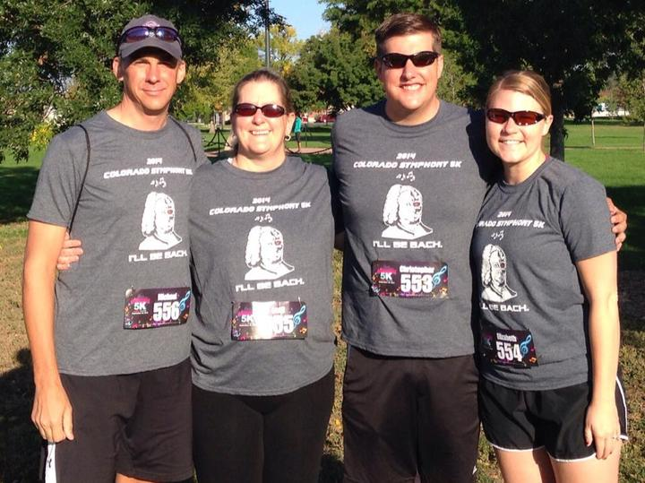 Colorado Symphony 5 K  T-Shirt Photo