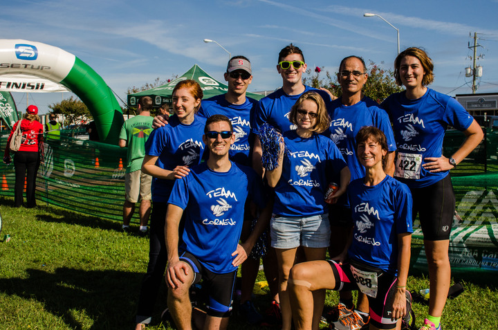 The Family That Tri's Together  Team Cornejo T-Shirt Photo
