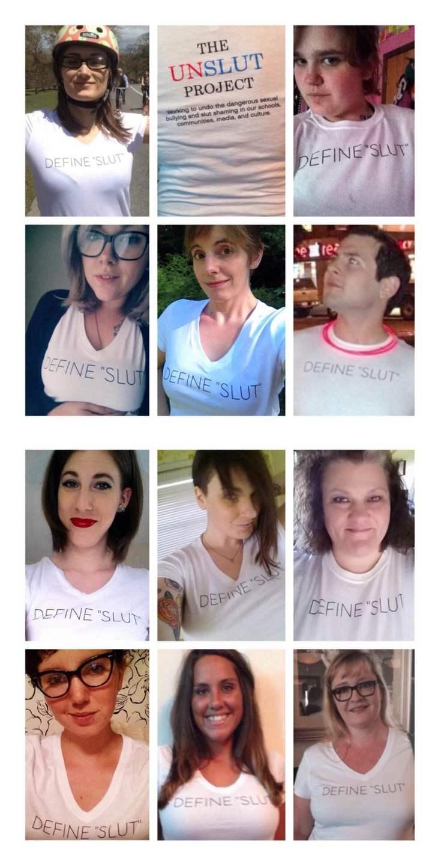 "Define ""Slut"" T-Shirt Photo"