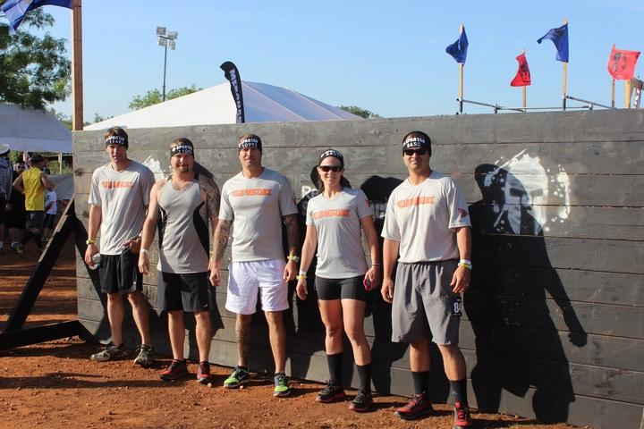 Team Vengeance   Austin Super Spartan T-Shirt Photo