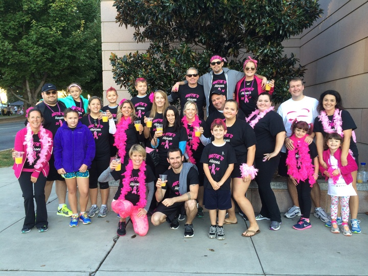 Hattie's Heroes Race For The Cure 2014 T-Shirt Photo