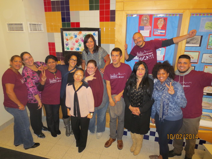 Lawrence Community Works   A Community Network Powered By People T-Shirt Photo