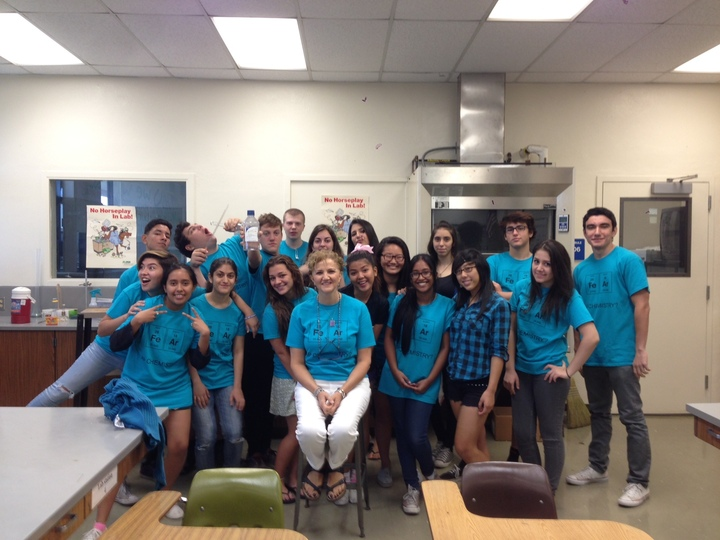 Hoover High Ap Chemistry Team T-Shirt Photo