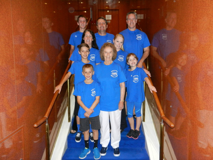Barbara's 80th Birthday Cruise T-Shirt Photo