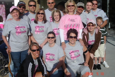 Team Harleys For Hooters T-Shirt Photo