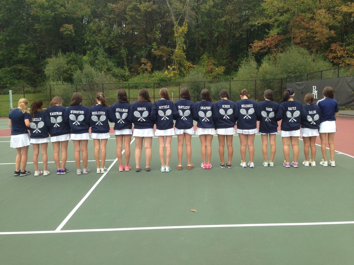 Byram Hills Girls Varsity Tennis  T-Shirt Photo