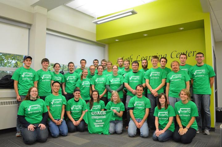 Michigan Tech Math Learning Center T-Shirt Photo