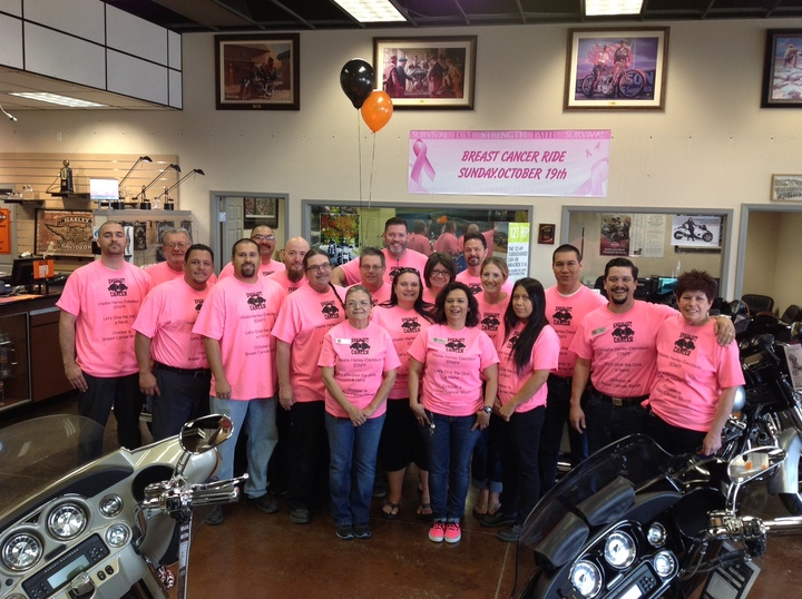 Ready For Our Breast Cancer Ride T-Shirt Photo