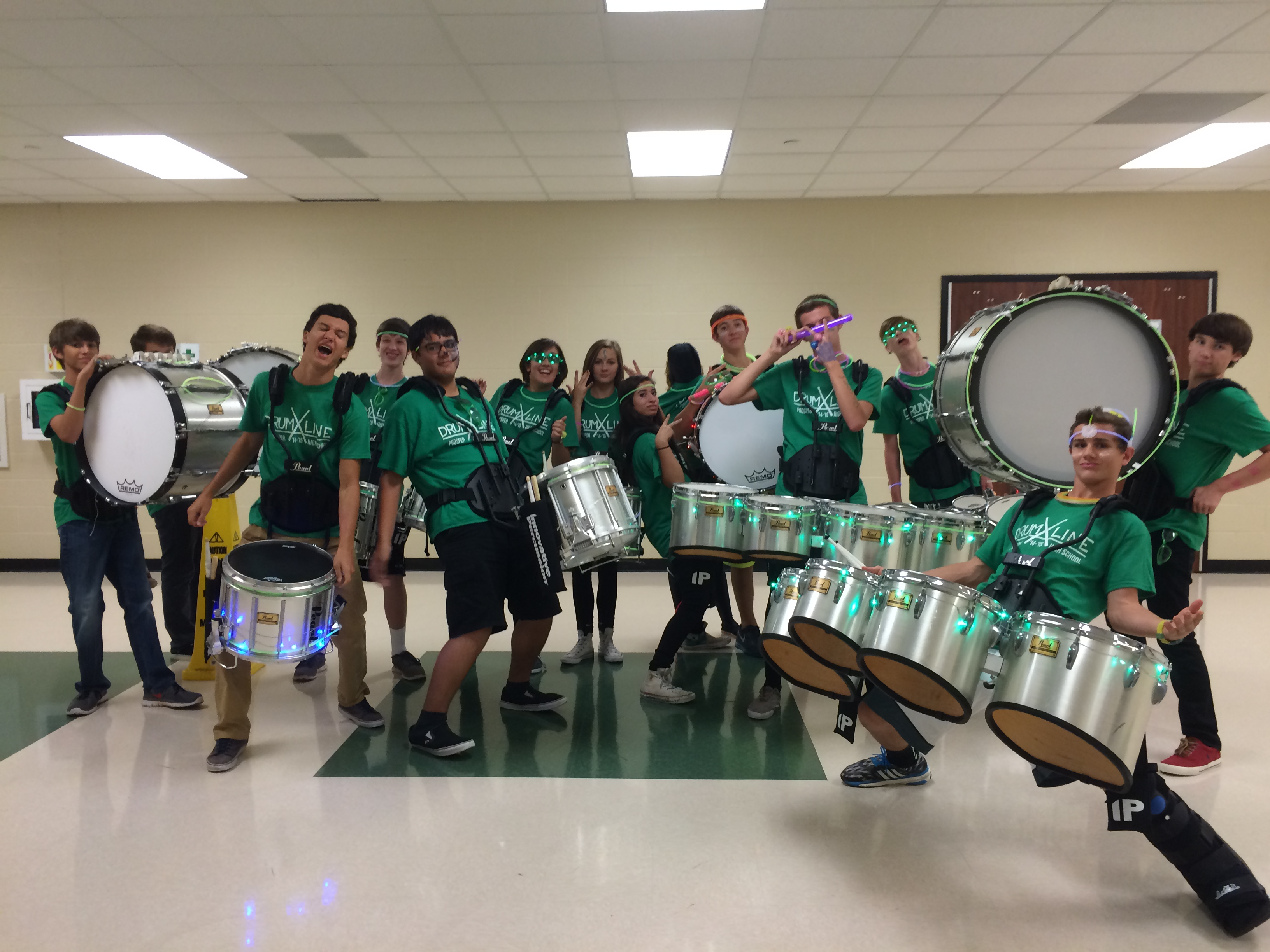 Design your own t shirt lesson plan - Phs Drumline Black Out Pep Rally T Shirt Photo