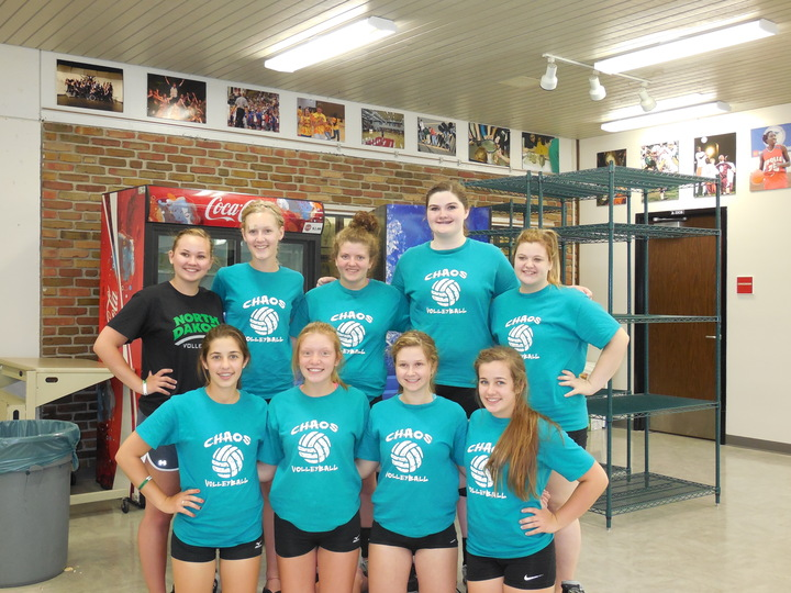 Chaos Volleyball T-Shirt Photo