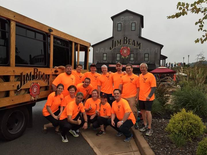 Team Whiskey Rebellion   Bourbon Chase 2014 T-Shirt Photo