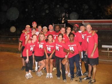 League Champion Hot Shots T-Shirt Photo