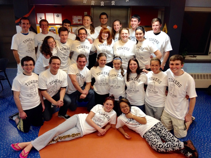 Framingham Towers 11th Floor T-Shirt Photo