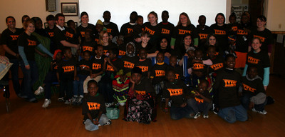Asymetric Tutoring Program Group Pic T-Shirt Photo